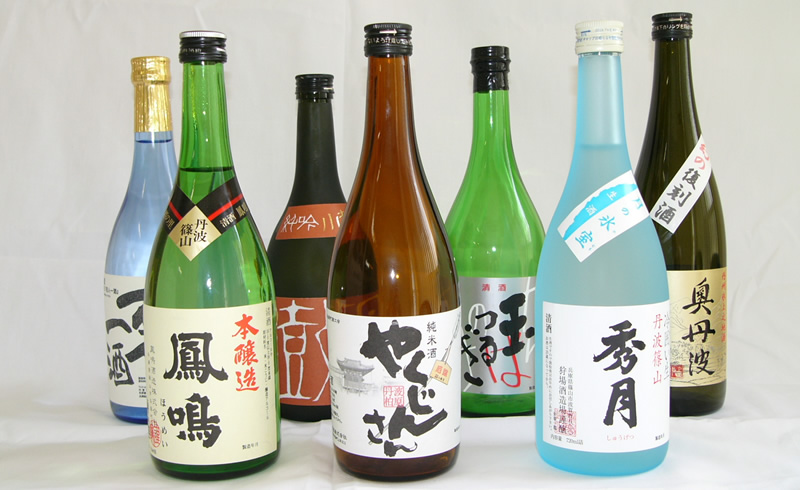 Local sake of Tamba
